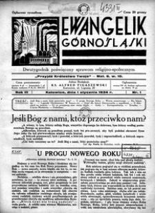 Ewangelik Górnośląski, 1934, R. 3, nr 1