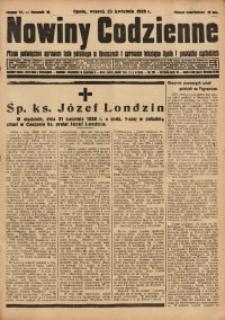 Nowiny Codzienne, 1929, R. 19, nr 93
