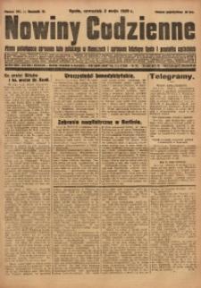Nowiny Codzienne, 1929, R. 19, nr 101