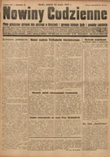 Nowiny Codzienne, 1929, R. 19, nr 118