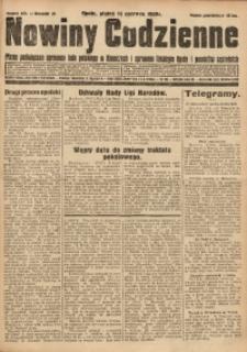 Nowiny Codzienne, 1929, R. 19, nr 135