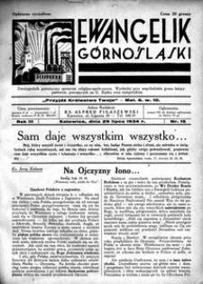 Ewangelik Górnośląski, 1934, R. 3, nr 15
