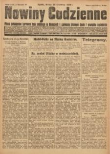 Nowiny Codzienne, 1929, R. 19, nr 145