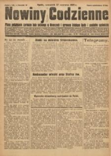 Nowiny Codzienne, 1929, R. 19, nr 146