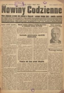 Nowiny Codzienne, 1929, R. 19, nr 150
