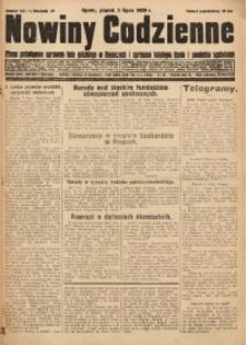 Nowiny Codzienne, 1929, R. 19, nr 152