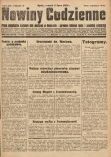 Nowiny Codzienne, 1929, R. 19, nr 155