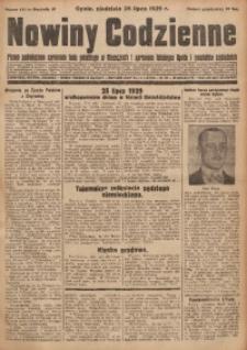 Nowiny Codzienne, 1929, R. 19, nr 171