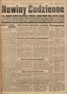 Nowiny Codzienne, 1929, R. 19, nr 277