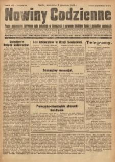 Nowiny Codzienne, 1929, R. 19, nr 283