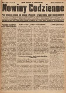Nowiny Codzienne, 1929, R. 19, nr 296