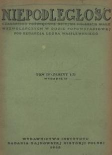 Niepodległość, T. 4 (kwiecień 1931 - wrzesień 1931). - Wyd. 2