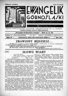 Ewangelik Górnośląski, 1935, R. 4, nr 27