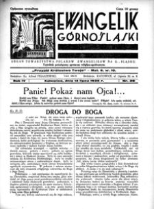 Ewangelik Górnośląski, 1935, R. 4, nr 28