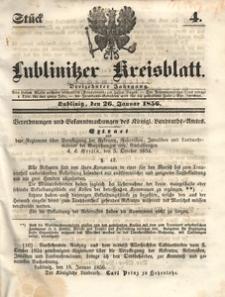 Lublinitzer Kreisblatt, 1856, Jg. 13, St. 4