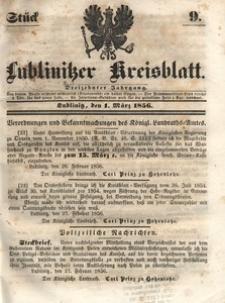 Lublinitzer Kreisblatt, 1856, Jg. 13, St. 9