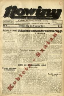 Nowiny. Czasopismo Północnej Części Województwa Śląskiego, 1934, R. 5, Nr. 68