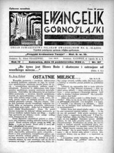 Ewangelik Górnośląski, 1935, R. 4, nr 37