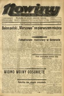 Nowiny. Czasopismo Północnej Części Województwa Śląskiego, 1934, R. 5, Nr. 110