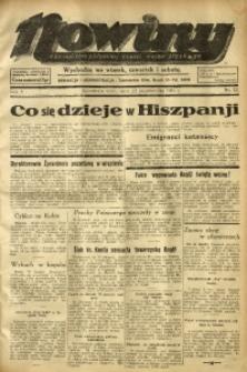 Nowiny. Czasopismo Północnej Części Województwa Śląskiego, 1934, R. 5, Nr. 121