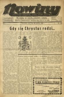 Nowiny. Czasopismo Północnej Części Województwa Śląskiego, 1934, R. 5, Nr. 145