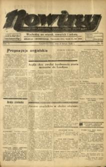 Nowiny. Czasopismo Północnej Części Województwa Śląskiego, 1935, R. 6, Nr. 15