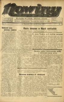 Nowiny. Czasopismo Północnej Części Województwa Śląskiego, 1935, R. 6, Nr. 18