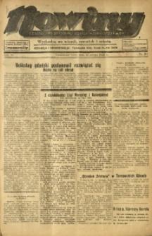 Nowiny. Czasopismo Północnej Części Województwa Śląskiego, 1935, R. 6, Nr. 24