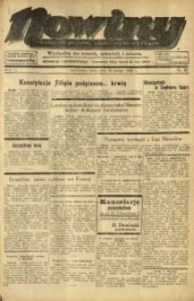 Nowiny. Czasopismo Północnej Części Województwa Śląskiego, 1935, R. 6, Nr. 25
