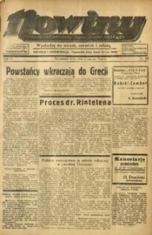Nowiny. Czasopismo Północnej Części Województwa Śląskiego, 1935, R. 6, Nr. 28