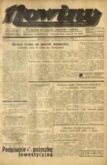 Nowiny. Czasopismo Północnej Części Województwa Śląskiego, 1935, R. 6, Nr. 51
