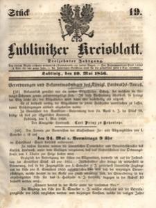 Lublinitzer Kreisblatt, 1856, Jg. 13, St. 19