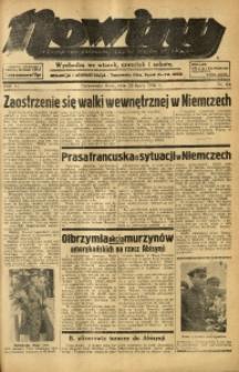 Nowiny. Czasopismo Północnej Części Województwa Śląskiego, 1935, R. 6, Nr. 84