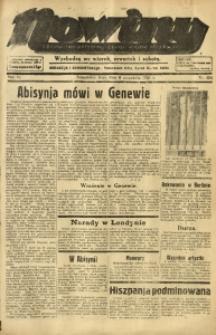 Nowiny. Czasopismo Północnej Części Województwa Śląskiego, 1935, R. 6, Nr. 104