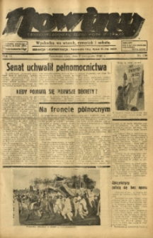 Nowiny. Czasopismo Północnej Części Województwa Śląskiego, 1935, R. 6, Nr. 130
