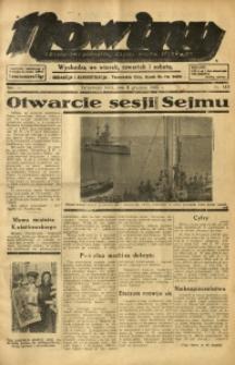 Nowiny. Czasopismo Północnej Części Województwa Śląskiego, 1935, R. 6, Nr. 143