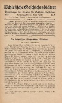 Schlesische Geschichtsblätter, 1937, Nr. 2