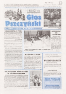 Gazeta Pszczyńska, 1998, R. 9, nr 14 (182)