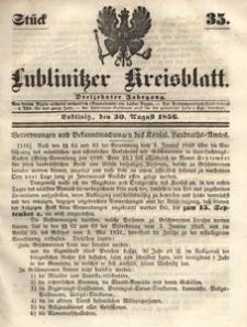 Lublinitzer Kreisblatt, 1856, Jg. 13, St. 35