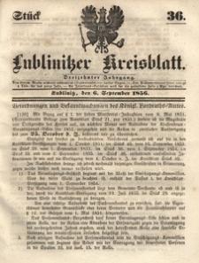 Lublinitzer Kreisblatt, 1856, Jg. 13, St. 36