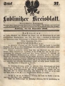 Lublinitzer Kreisblatt, 1856, Jg. 13, St. 37
