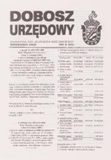Dobosz Urzędowy, 2000, nr 8 (65)