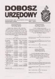 Dobosz Urzędowy, 2002, nr 7 (86)