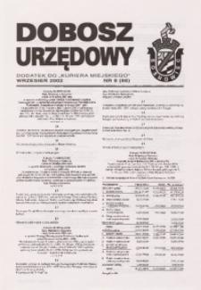 Dobosz Urzędowy, 2002, nr 8 (87)