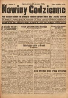 Nowiny Codzienne, 1930, R. 20, nr 20