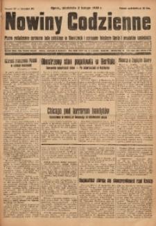 Nowiny Codzienne, 1930, R. 20, nr 27