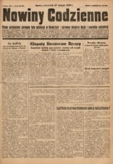 Nowiny Codzienne, 1930, R. 20, nr 48