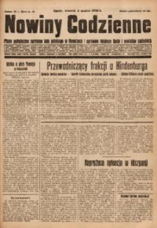 Nowiny Codzienne, 1930, R. 20, nr 52