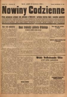 Nowiny Codzienne, 1930, R. 20, nr 85