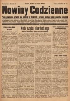 Nowiny Codzienne, 1930, R. 20, nr 101